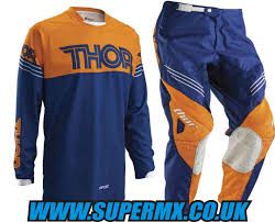 thor motocross gloves 2016 thor phase hyperion motocross kit combo navy orange super mx