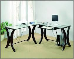 Amazing Officemax Glass Desk Officemax Glass Desk Agbhr  Odelia Design