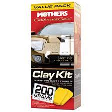 amazon com mothers 07240 california gold clay bar system automotive