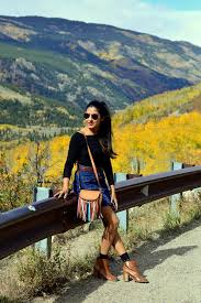Colorado travel style images Denim skirt ots top independence pass colorado miss minus sized