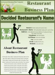 Free Excel Business Plan Template Restaurant Business Plan Template Free Business Template