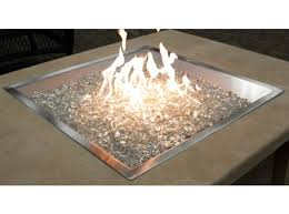 Diy Gas Fire Pit by 24x24 Square Burner Bowl Pewter Diy Gas Fire Pit Kit Cf 2424 Ptr