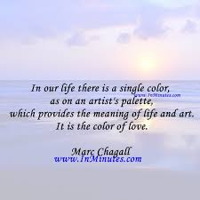 quotes in our life there is a single color as on an artist u0027s