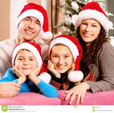 christmas tree family christmas lights decoration