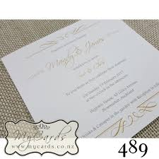 wedding invitations new zealand gold square wedding invitation design 489