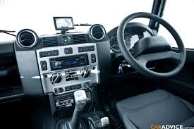 jeep defender interior 2008 land rover defender svx review photos 1 of 49