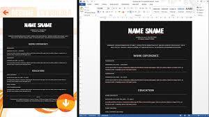 Resume Cv Maker Resume Cv Builder Download