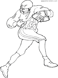 free sports coloring pages from sherriallen com
