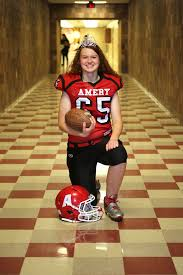 representing like a warrior miss amery 2016 on football firsts