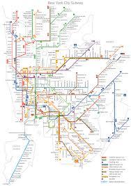 mta map subway subway map