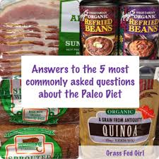 5 commonly asked questions about paleo diet grass fed