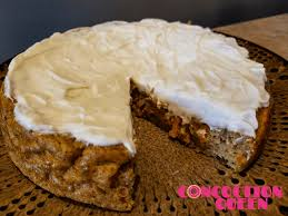 high protein carrot cake recipe with protein cream cheese frosting