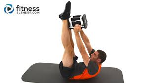 Weight Bench Ab Exercises Advanced Abs Workout 5 Minute Weighted Abs Workout Fitness Blender