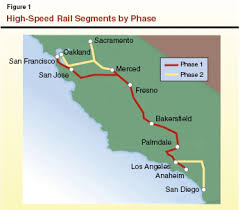 california high speed rail map high speed rail is at a critical juncture