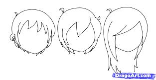 diadtocsucmoi how to draw anime guys hair