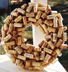 diy christmas wreath craft ideas u0026 instructions wine cork wreath