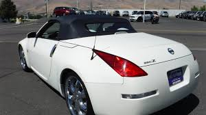 convertible nissan 350z 2004 nissan 350z roadster gt convertible local trade new tires and