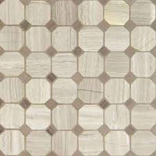 octagon tile flooring the home depot