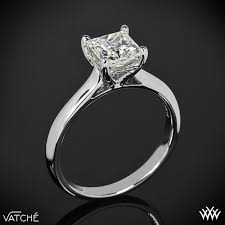 solitaire engagement ring caroline solitaire engagement ring for princess cut diamonds by