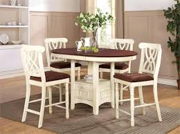 counter height table with butterfly leaf counter height kitchen tables dark wood round counter height kitchen