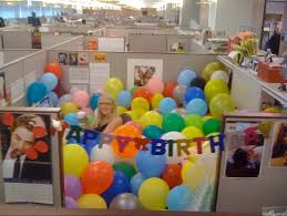 The  Best Office Birthday Decorations Ideas On Pinterest - Birthday decorations at home ideas