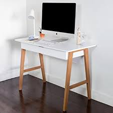 Sturdy Computer Desk Wood Computer Desk With Drawer Great For Home Office