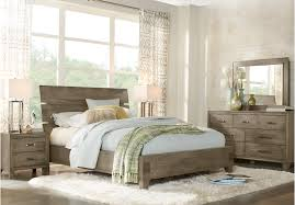 crestwood creek gray 7 pc queen panel bedroom bedroom u2026 new