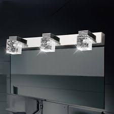 Crystal Bathroom Vanity Light by Stainless Steel Modern Bathroom Fan Light Fixtures Ebay