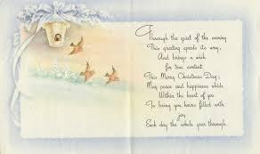 christmas bird card inside pin xmas