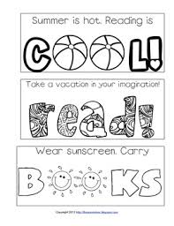 printable bookmarks for readers summer reading printable bookmarks to color by library learners tpt