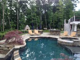 pool landscaping contractor cromwell ct pinewood landscaping