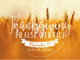 thanksgiving praise service central baptist church in dunn nc