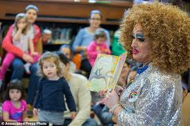 queen brooklyn hair reviews library brings drag queens kids together for story hour daily