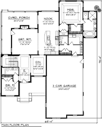 Craftsman House Floor Plans 203 Best House Plans Images On Pinterest Home Architecture And