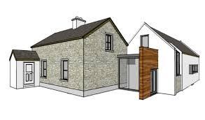 architectural designs creative design vernacular circular house extension with