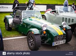 british racing green caterham 7 in british racing green stock photo royalty free image
