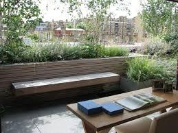 terrace garden with wooden trellis wonderful roof terrace garden