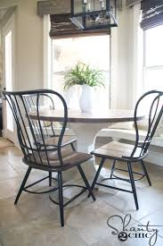 diy round kitchen table diy round table shanty 2 chic