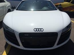 Audi R8 White - white audi r8 joe u0027s stereo