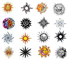 new tattoo trend design sketch of sun tattoos designs picture