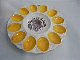 small deviled egg plate ceramic deviled egg plate wallhanging holds 12 1 dozen eggs