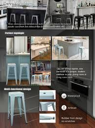 home bar design amazon com devoko metal bar stool 30 u0027 u0027 tolix style indoor outdoor