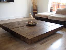 Build Large Coffee Table by Large Wooden Coffee Table Great Rustic Coffee Table On Cheap