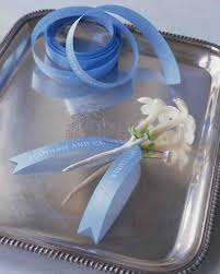customized ribbon 15 years of things for weddings martha stewart weddings