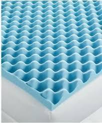 home design 3 sculpted memory foam queen mattress topper pad egg