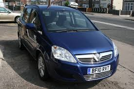 vauxhall blue vauxhall zafira opel zafira review and photos