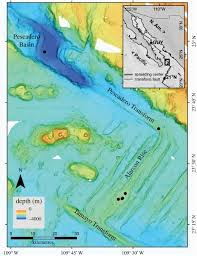 Gulf Of Mexico Depth Map by Faunal Diversity At Southern Goc Vents Proceedings Of The Royal