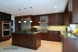 painted vs stained kitchen cabinets recent cabinet refinishing paint vs stain vs cabinet coating