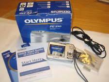 olympus fe 310 memory card olympus fe fe 210 7 1mp digital silver ebay