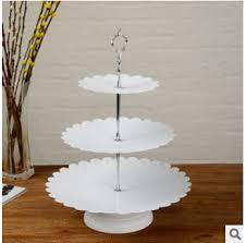 iron cake topper european fashion 3 layer wedding metal iron cake decoration tools
